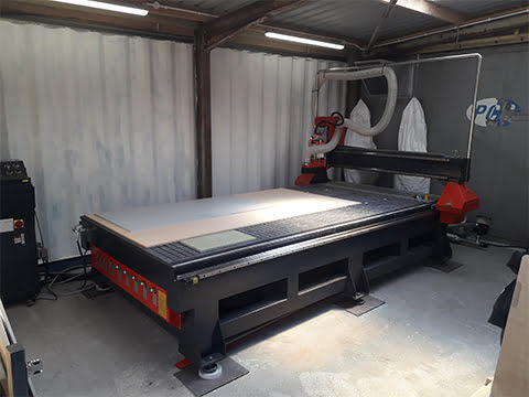 CNC Router M4.5 1630 in Wales