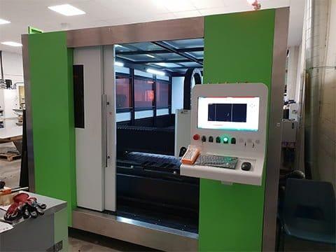Fibre laser cutter installed near Chelmsford