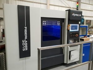Fibre laser machine installed in Carlisle