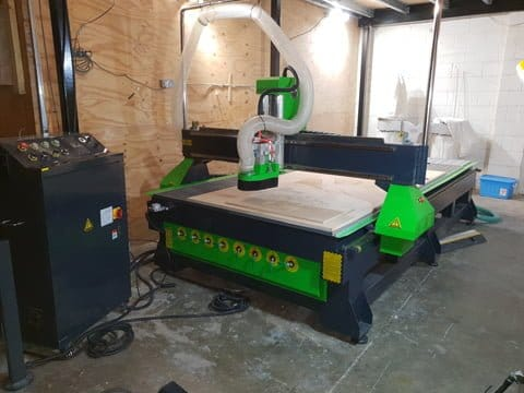 CNC Router Installation in Park Royal, London