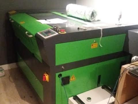 Laser Cutter Engraver Install Gloucester