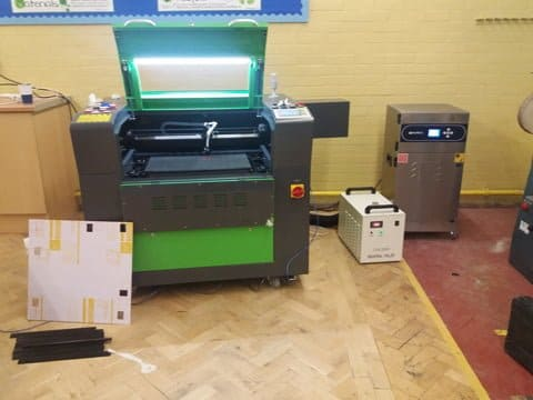 Laser Cutter hampshire