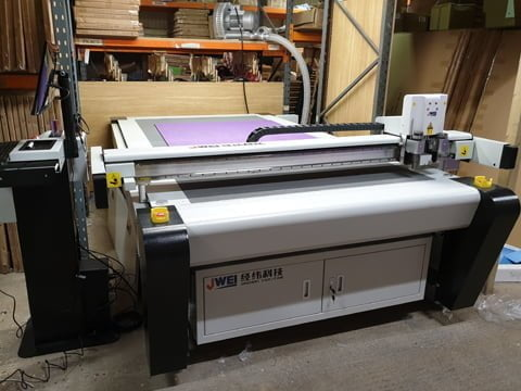 Digital Cutting Table installed in Northern Ireland.