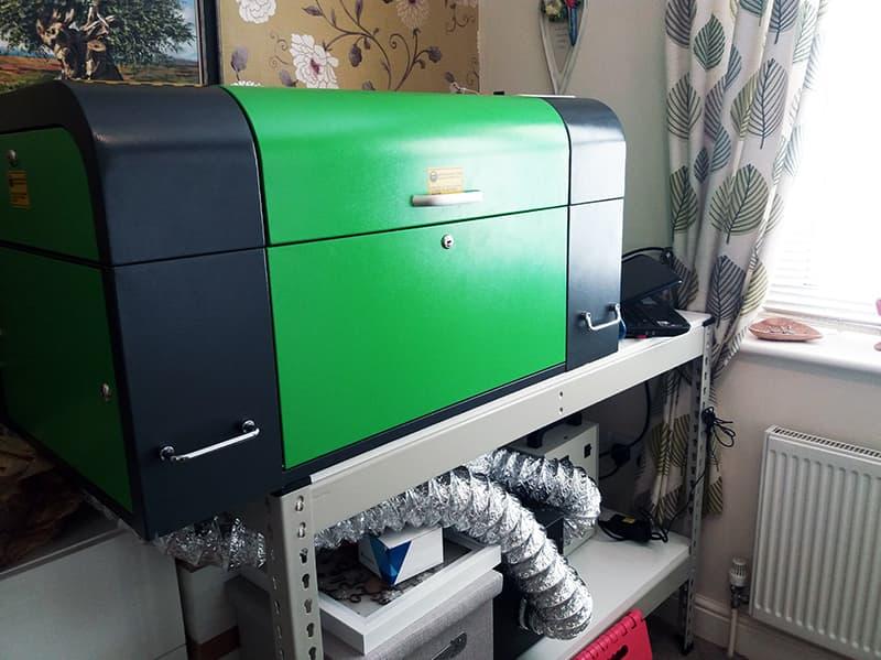 New Laser Machine Installation In Peterborough