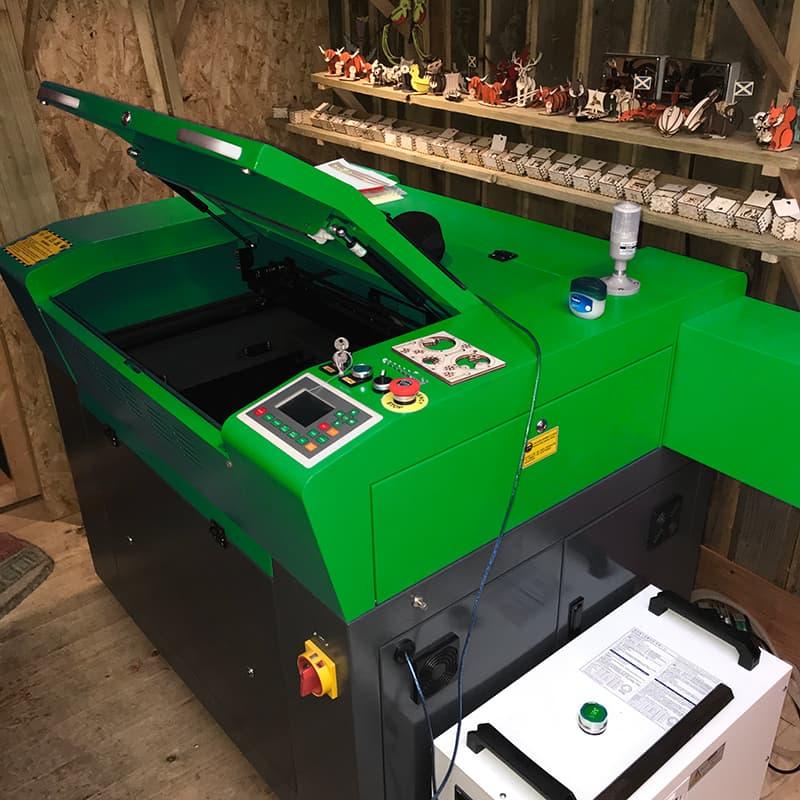 LASER CUTTING MACHINE INSTALLED IN SCOTLAND
