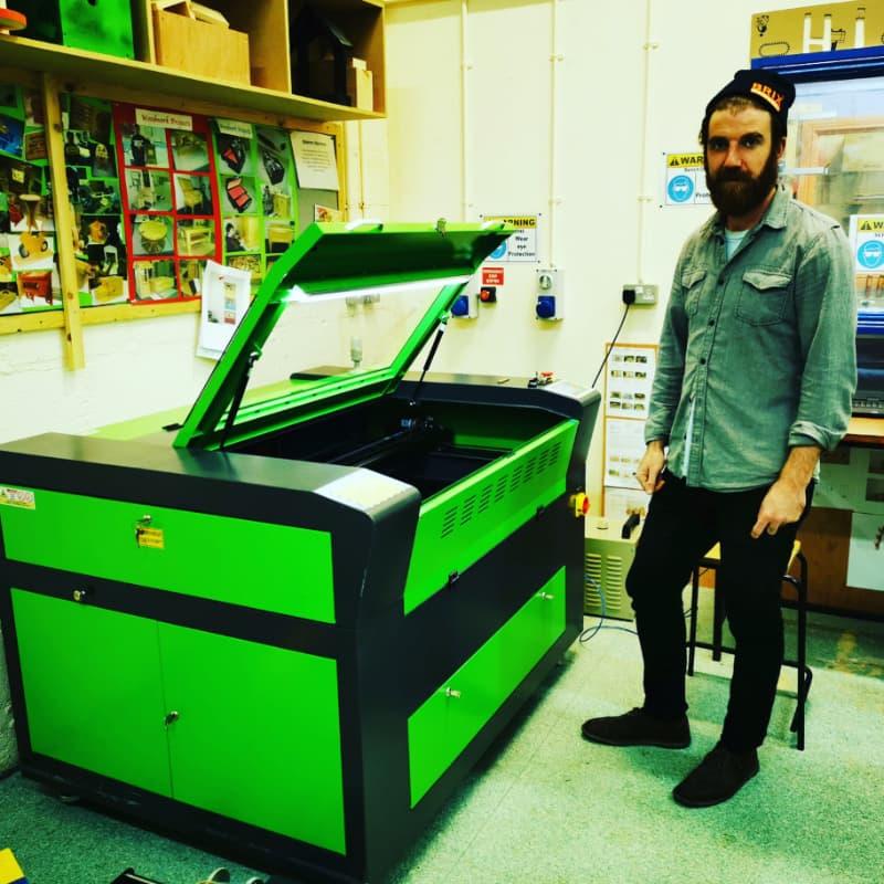 Laser Cutter Engraving Machine Ireland