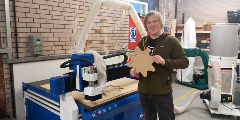 CNC Router Installation in Staffordshire UK