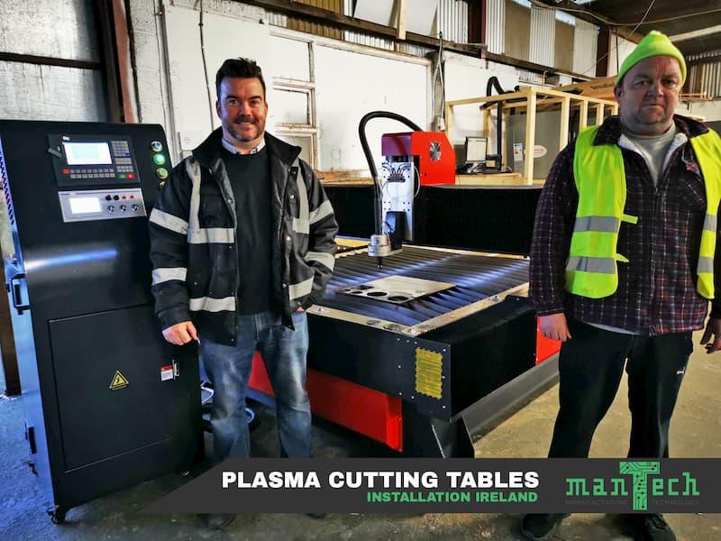 Noua masă de tăiere cu plasmă Irlanda