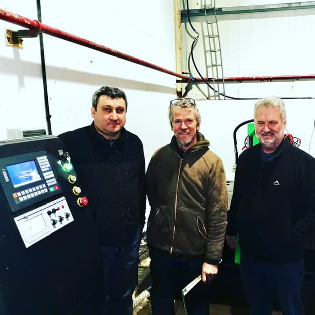 Sheet metal Workshop In Co. Louth Chooses Mantech For Their Plasma Cutting Table.