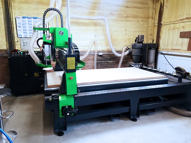CNC Routing Specialist Chooses Mantech UK