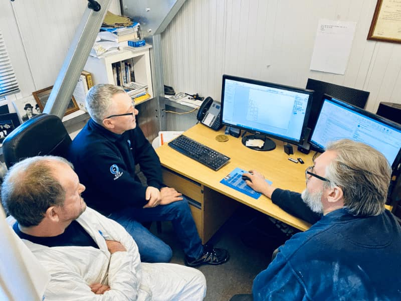 Customer Training On CNC Router Software In South Shields