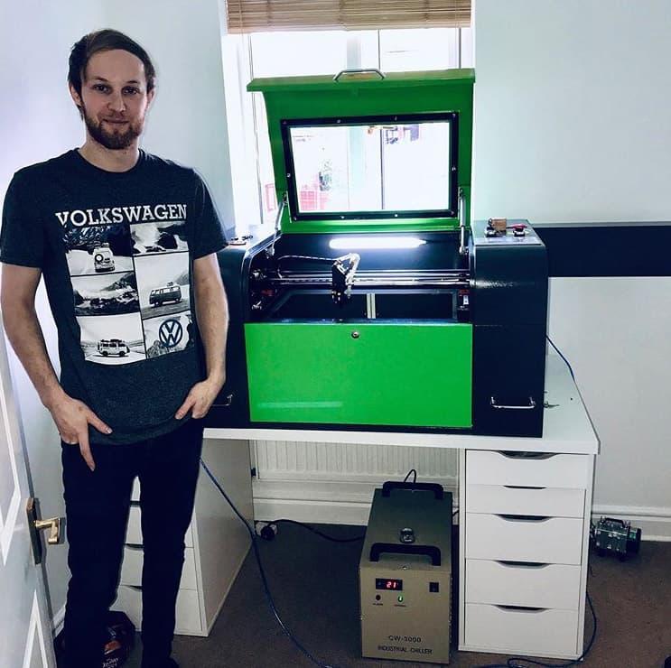 Desktop Laser Customer In Mirfield, Dewsbury.