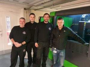 University Chooses Mantech For Fibre Lasers