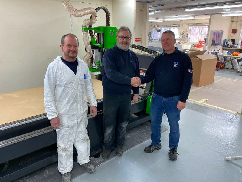 Customer Chooses Mantech To Supply Their CNC Machinery
