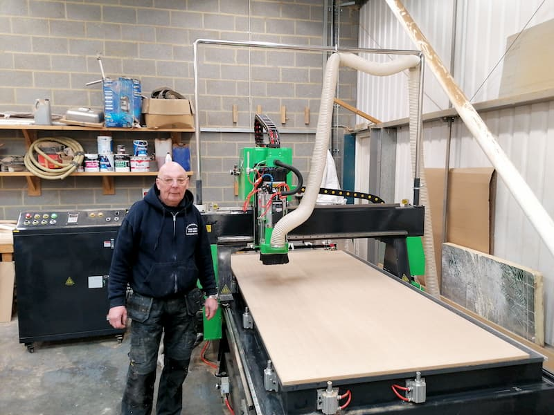 Automatic Tool Change CNC Installation In Kings Lynn UK