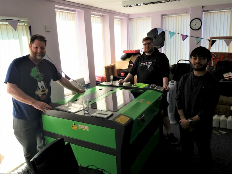 Patchwork & Fabric Supplier Purchases Lasertech