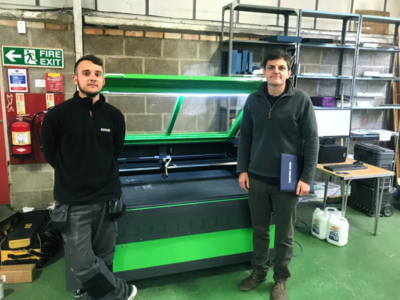 Multi-National Business Chooses Lasertech Lasers