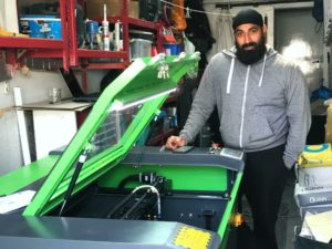 West Bromwich Maker chooses Lasertech