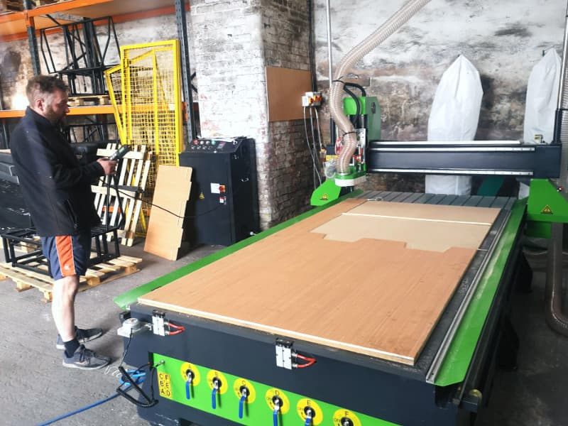 CNC Router used for Camper van Beds UK