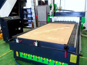 CNC Router Installation - Joinery Business In Hailsham