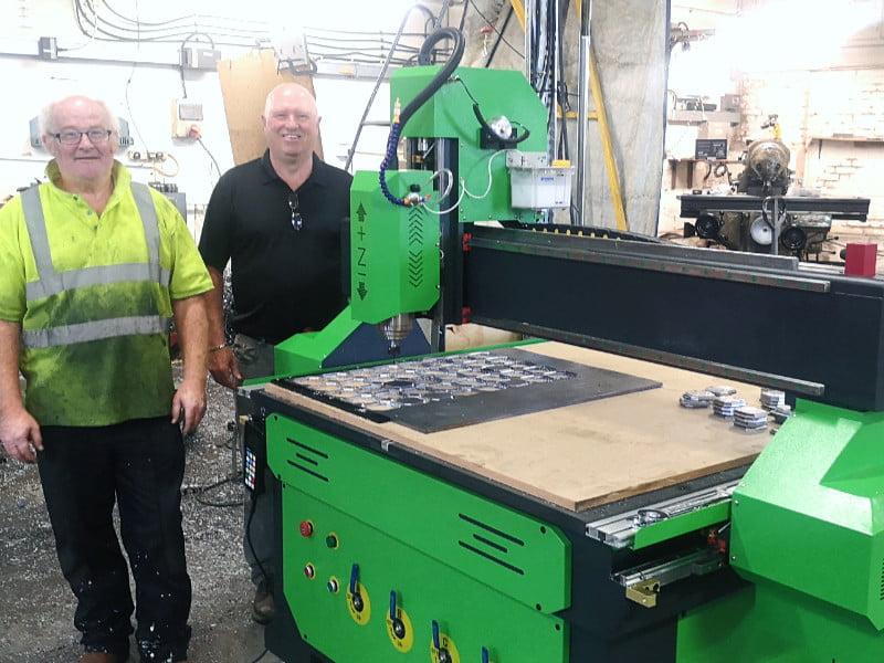 Lead Cutting Customer Buys Spartan CNC