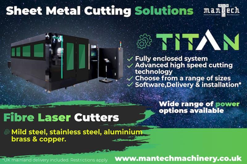 Titan Fibre Laser cutter