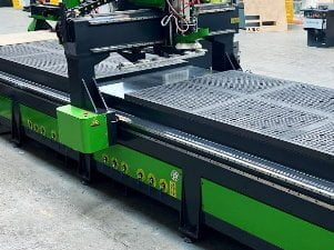 Twin Bed CNC Router