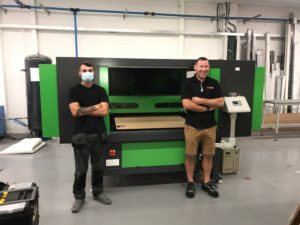 Engineers Choose Large Format Laser Cutter