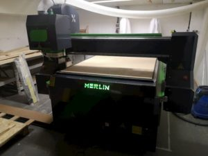 Merlin CNC Router Install