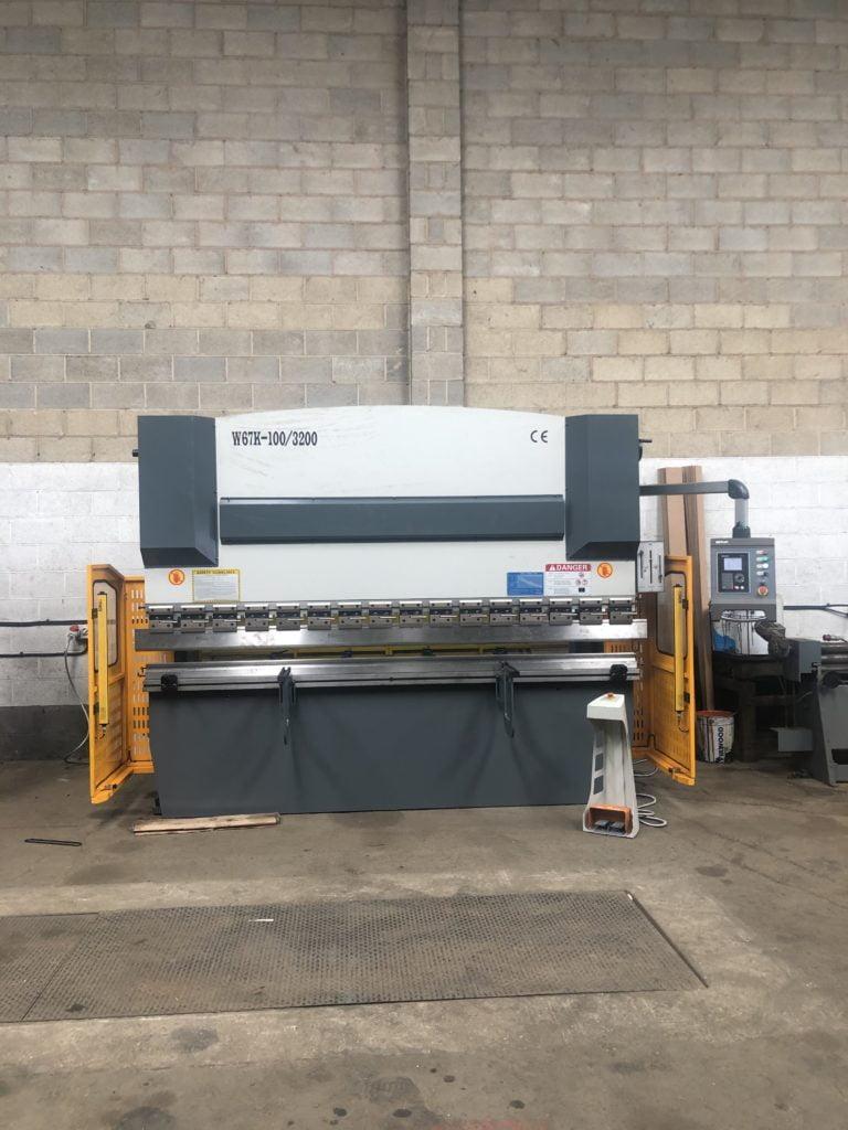 Spraybooth Manufacturer - Press Brake